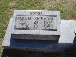 Clara Bertha <i>Richmond</i> Daniels