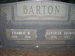 Gertrude <i>Brown</i> Barton