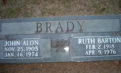 Ruth Marie <i>Barton</i> Brady