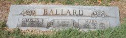 Mary Elizabeth <i>Douglas</i> Ballard