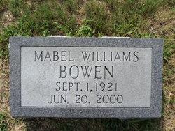 Mabel Lee <i>Williams</i> Bowen
