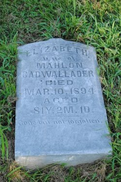 Elizabeth <i>Crew</i> Cadwallader
