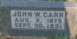 John W Carr