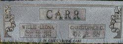 Willie Leona <i>Donahue</i> Carr