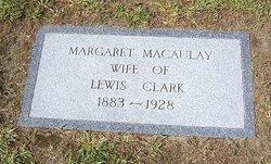 Margaret <i>MacAulay</i> Clark