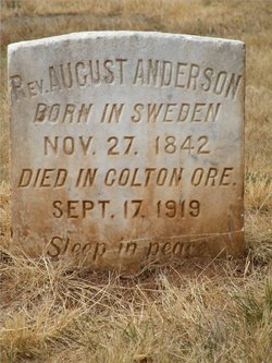 Rev August Anderson