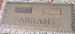 Alice M. Abrams