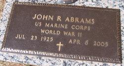 John R Abrams