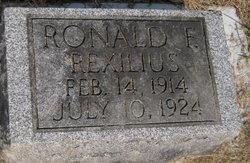 Ronald F Rexilius