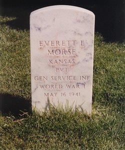 Pvt Everett Lee Morse
