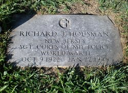 Sgt Richard Julius Dick Housman