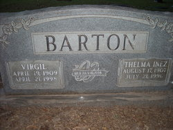 Thelma Inez Barton