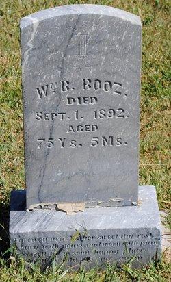 William Benjamin Booz