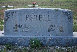 Mary Elizabeth <i>Mathis</i> Estell