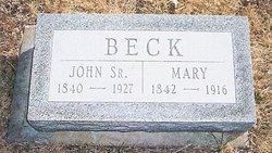 John Beck, Sr