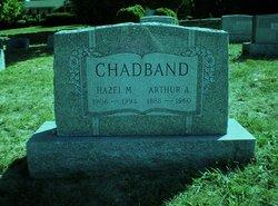 Mrs Hazel M <i>Housman</i> Chadband