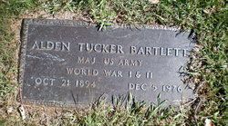 Alden Tucker Bartlett
