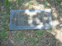 Willie Mae <i>Spangler</i> Bain