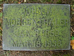 John W Morgenthaler