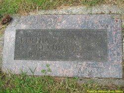 Bertha <i>Thompson</i> Hendricks