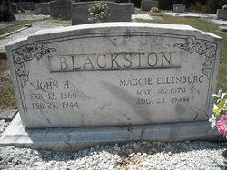Maggie <i>Ellenburg</i> Blackston