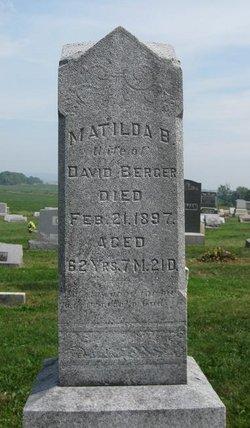 Matilda Barbara <i>Wagner</i> Berger