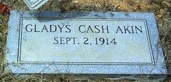 Gladys <i>Cash</i> Akin