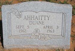 Duane Ahhaitty