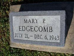Mary P. Edgecomb