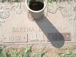 Bertha <i>Green</i> Barron