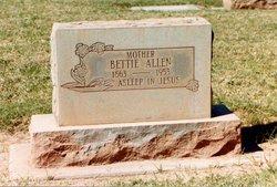 Elizabeth Bettie <i>Wilson</i> Allen