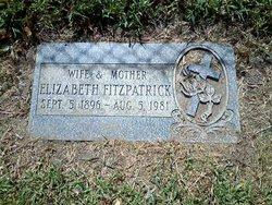 Elizabeth Joanna <i>Schwind</i> Fitzpatrick