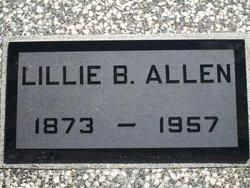 Lillie B Allen
