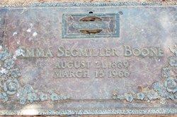 Emma <i>Segmiller</i> Boone