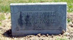 Annie B. <i>Hill</i> Barbee