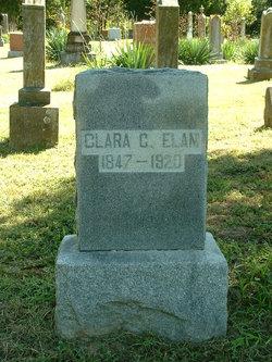 Clarissa Caroline Clara <i>Tull</i> Elam