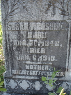 Susan V or W <i>Anderson</i> Cushing