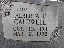 Alberta C Caldwell