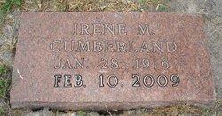 Irene M Cumberland