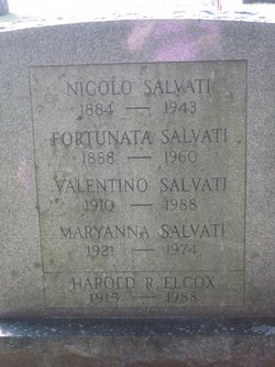 Maryanna <i>Salvati</i> Elcox