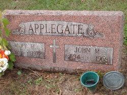 John M Applegate