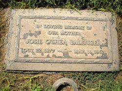 Josie <i>O'Shea</i> Balenger
