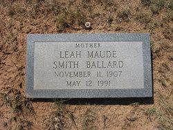 Leah Maude <i>Smith</i> Ballard