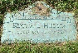 Bertha <i>Ludlam</i> Hudson