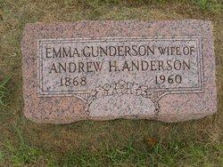 Emma <i>Gunderson</i> Anderson