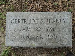 Gertrude S Blaney