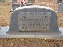 Letitia Emily <i>Allred</i> Bulla