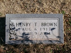 Henry Thomas Brown