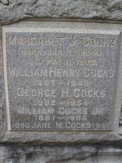 Margaret J <i>Dowd</i> Cocks