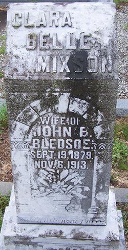 Clara Bell <i>Mixson</i> Bledsoe
